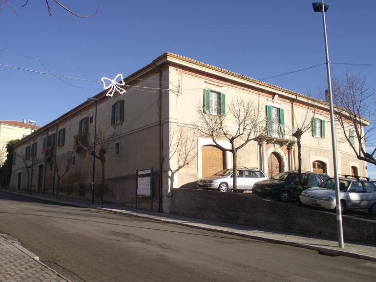 Italian property for sale, Fascinating noble palazzo Molise, Santa Croce di Magliano (Monti)