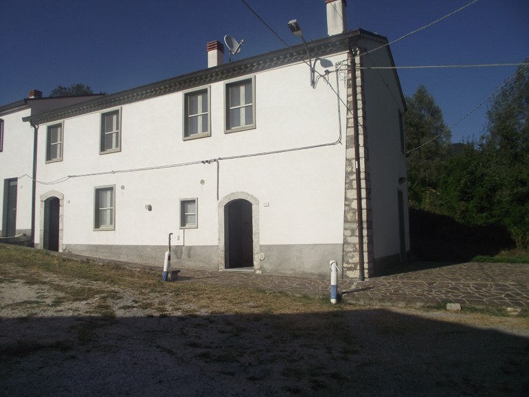 Portion of restored country house in Italy Molise, Vastogirardi