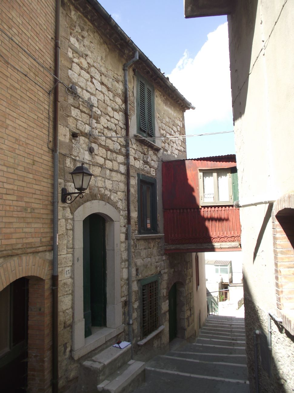 Stone house for sale Italy with garden,Limosano, Molise–Bice