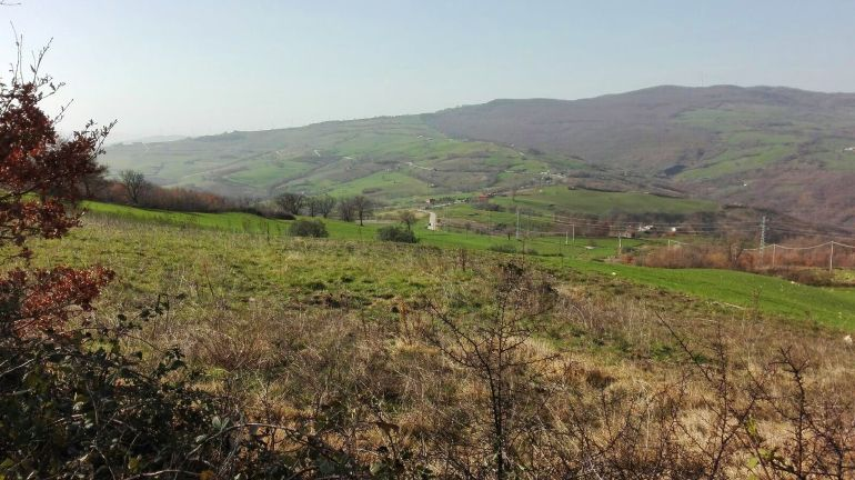 Country house in Molise with large plot of land in a panoramic position Canapa