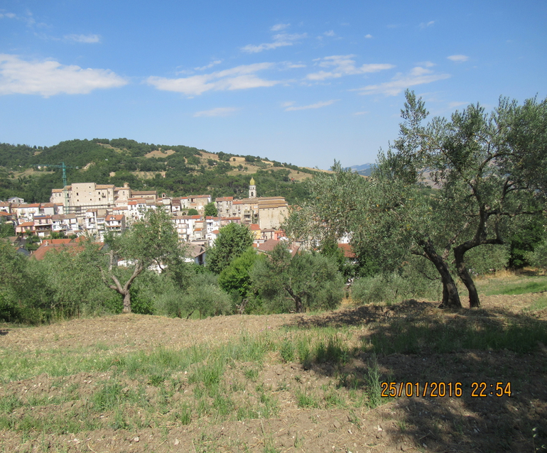 Rural house with land to buy in Lucito Molise